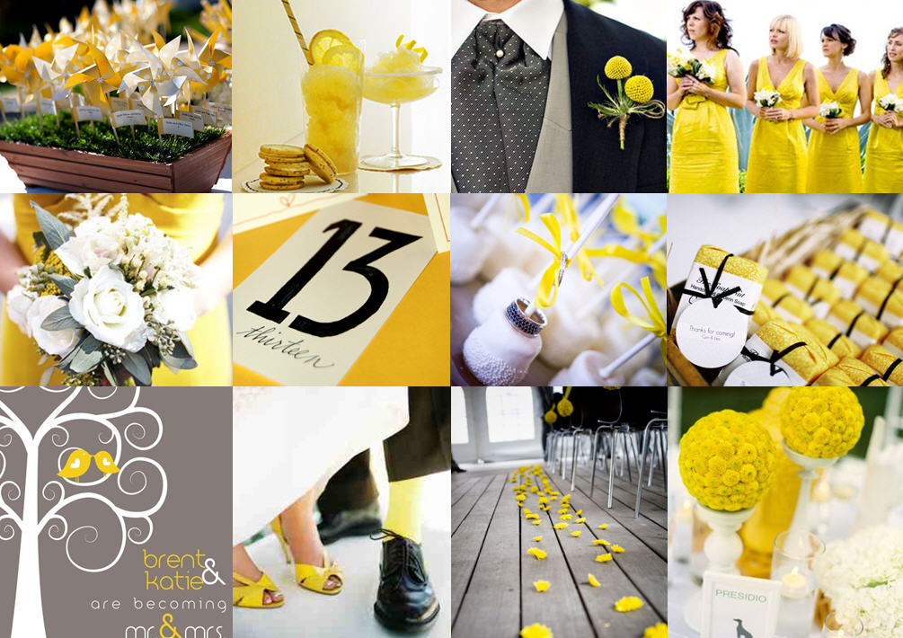 Inspiration Board: Walking on sunshine | SouthBound Bride