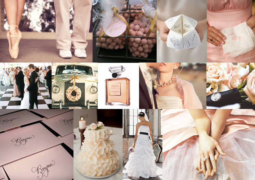 Inspiration Board: A night at the ballet | SouthBound Bride