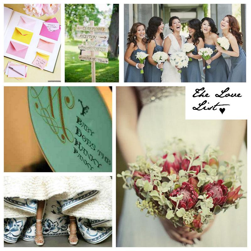 The Love List {30 Jun 2010} | SouthBound Bride