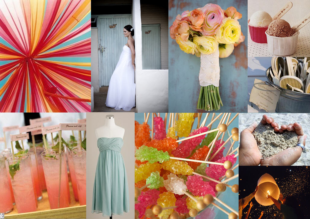 Inspiration Board: Beachy Keen | SouthBound Bride