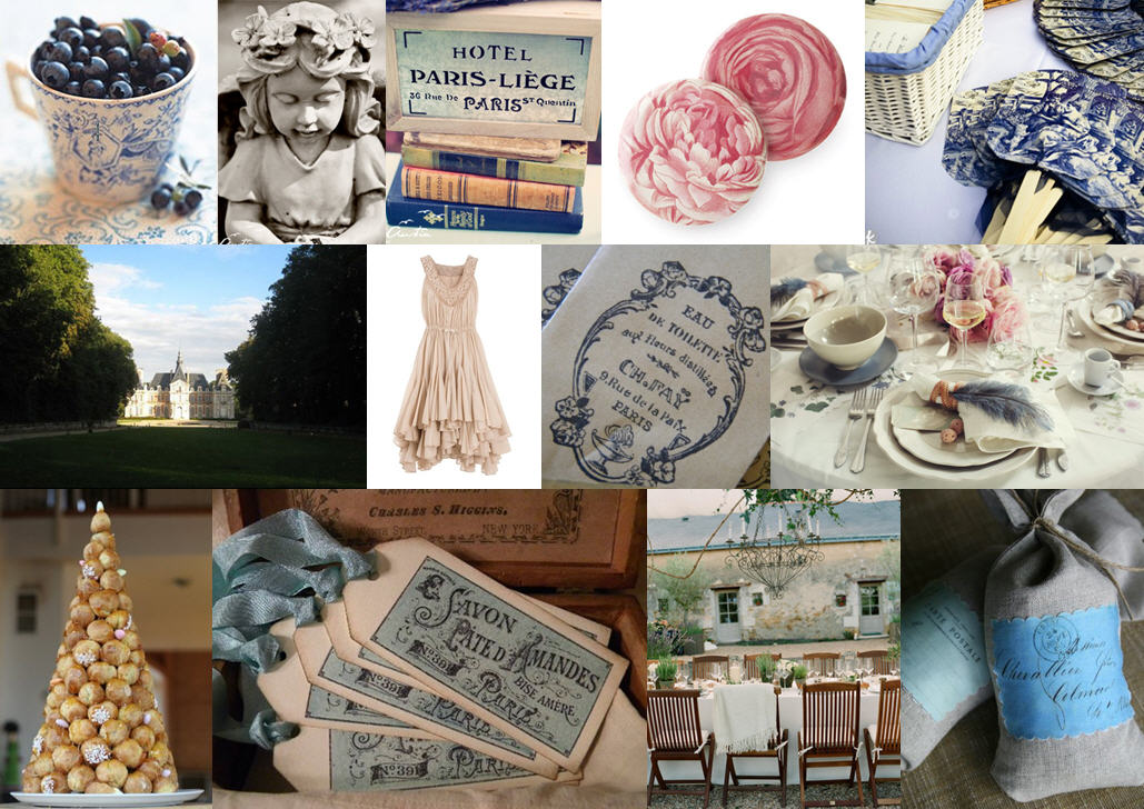 Inspiration Board: Toile & Rose | SouthBound Bride