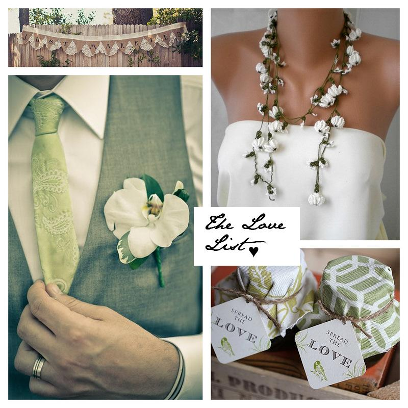 The Love List {6 Aug 2010} | SouthBound Bride