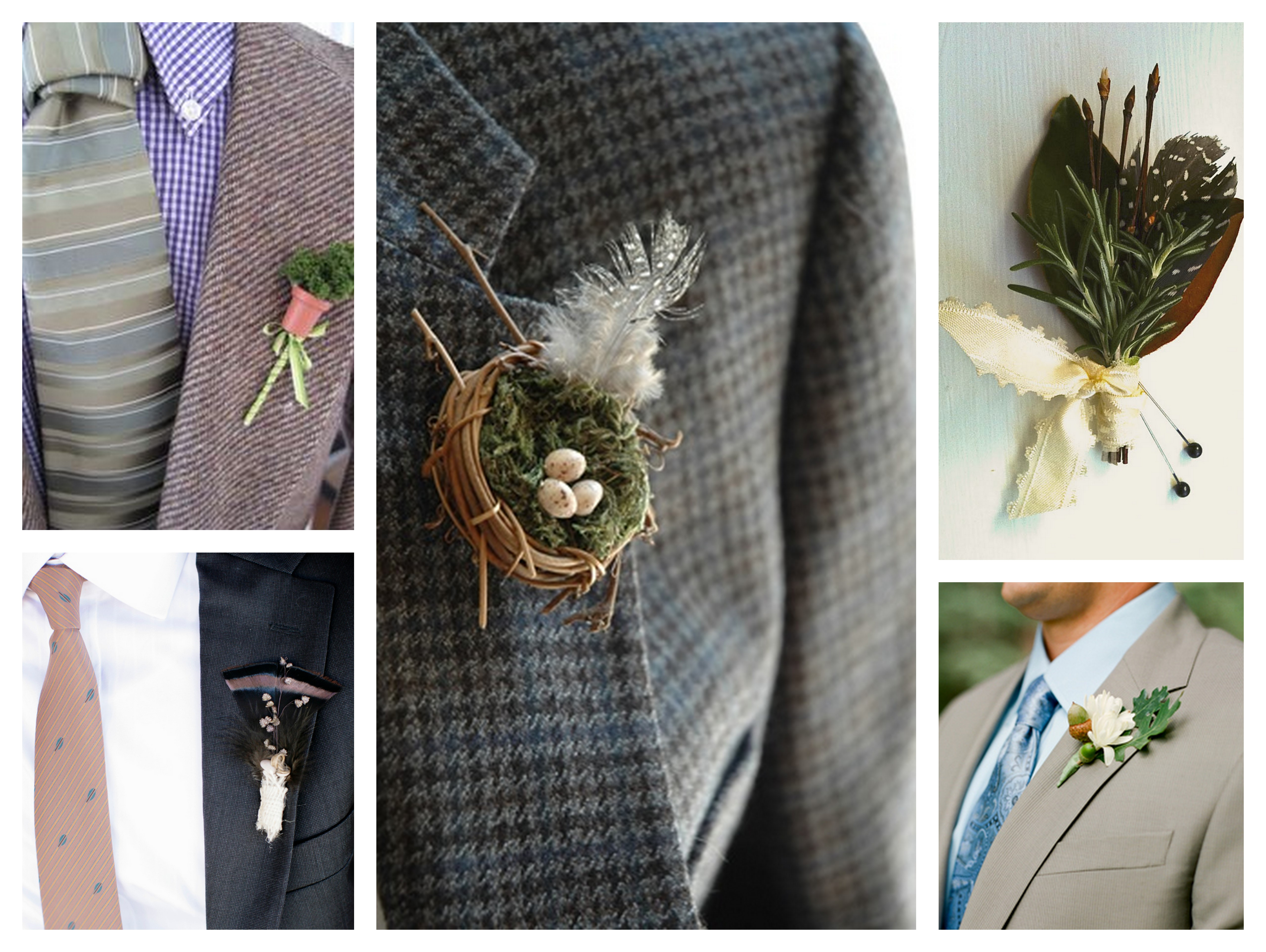25 Fun & Fresh Boutonnieres | SouthBound Bride