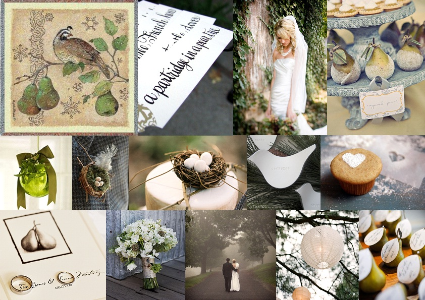 Inspiration Board: On the First Day of Christmas... | SouthBound Bride