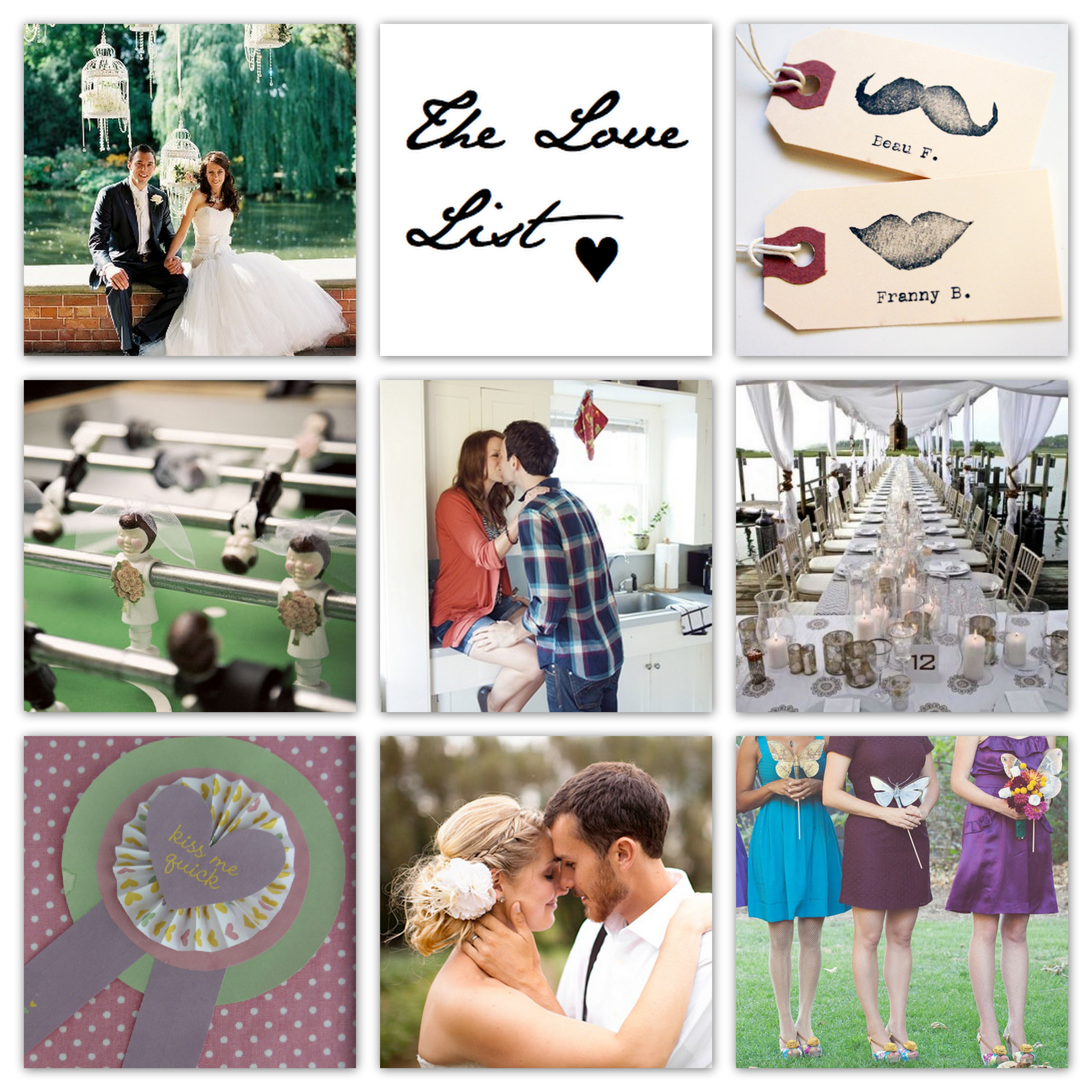 The Love List {28 Jan 2011} | SouthBound Bride