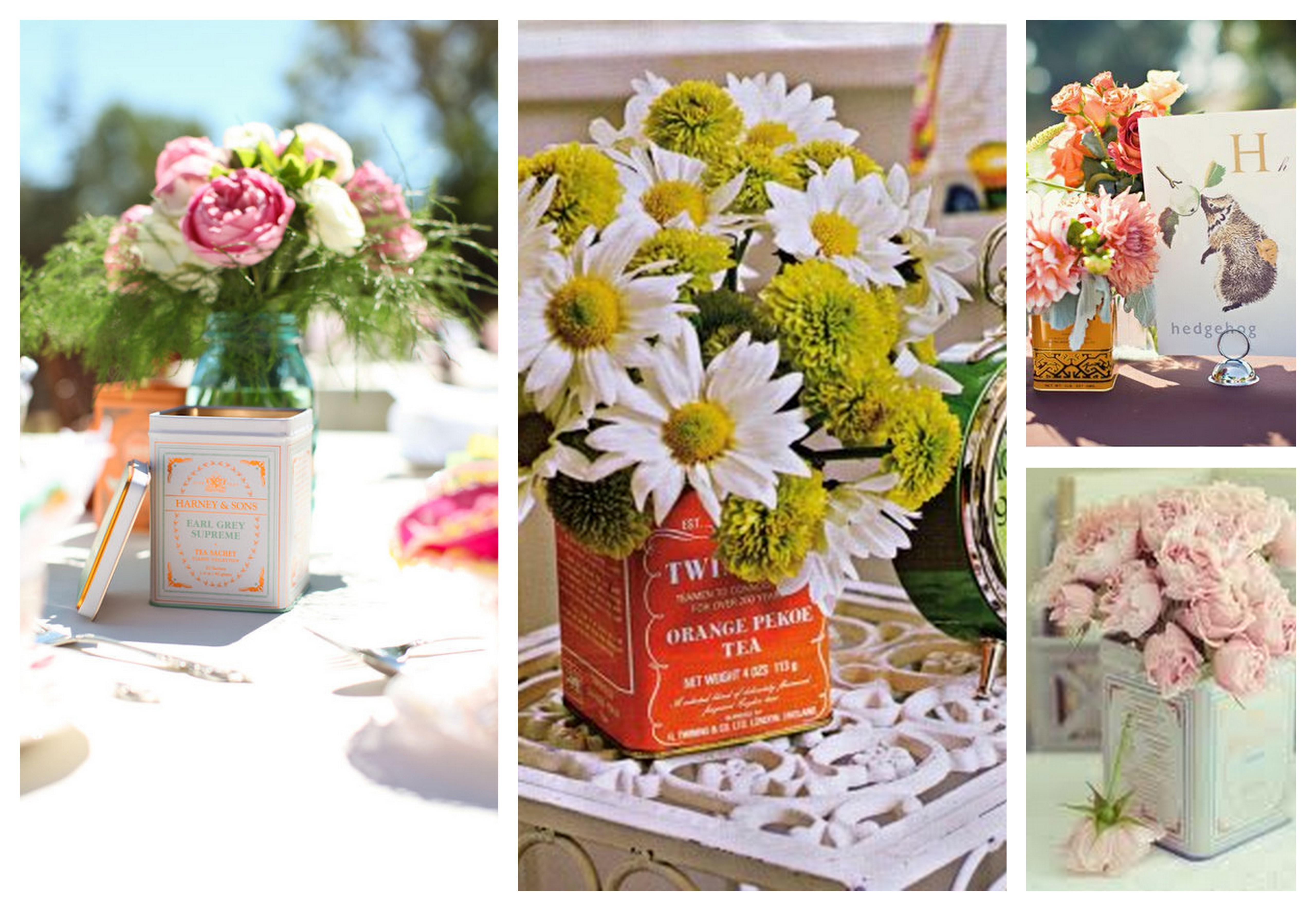 Tea Party Wedding Theme