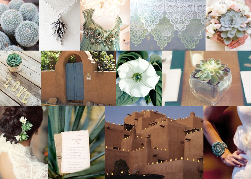 Inspiration Board: Santa Fe Love Letter | SouthBound Bride