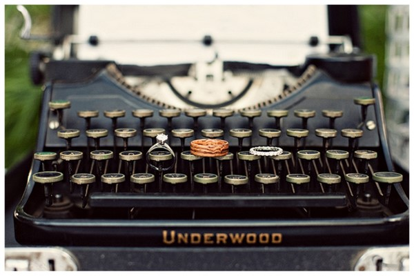 Just My Type! {Typewriter Wedding Details} | SouthBound Bride