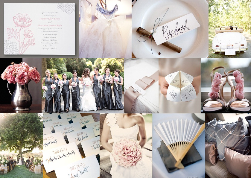 Inspiration Board: Pewter & Rose | SouthBound Bride