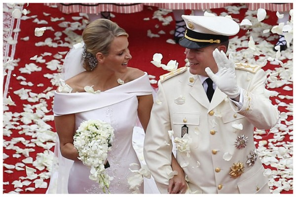Celebrity Inspiration: Princess Charlene & Prince Albert | SouthBound Bride