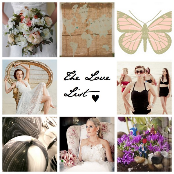 The Love List {29 Jul 2011} | SouthBound Bride
