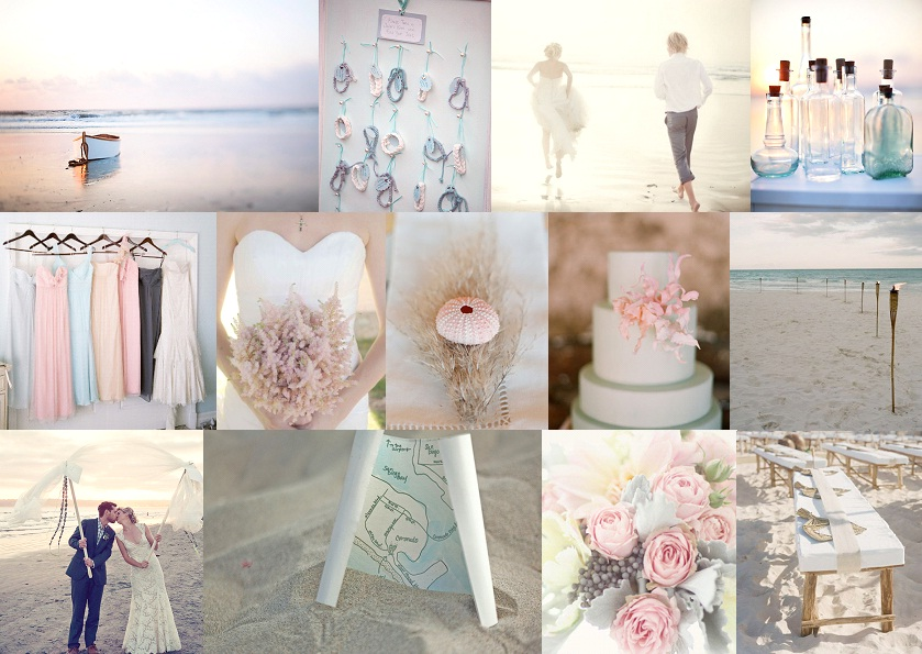 Inspiration Board: Message in a Bottle | SouthBound Bride