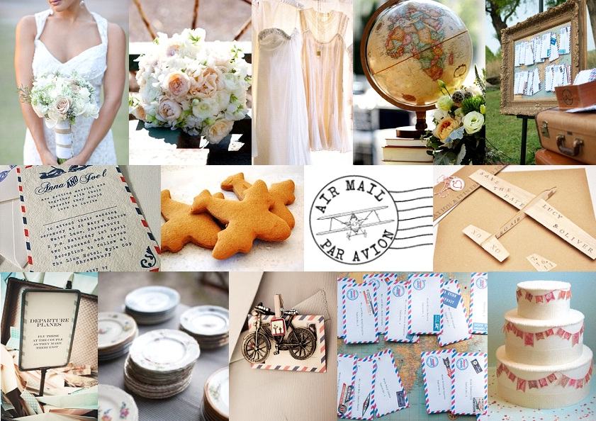 Inspiration Board: Par Avion | SouthBound Bride