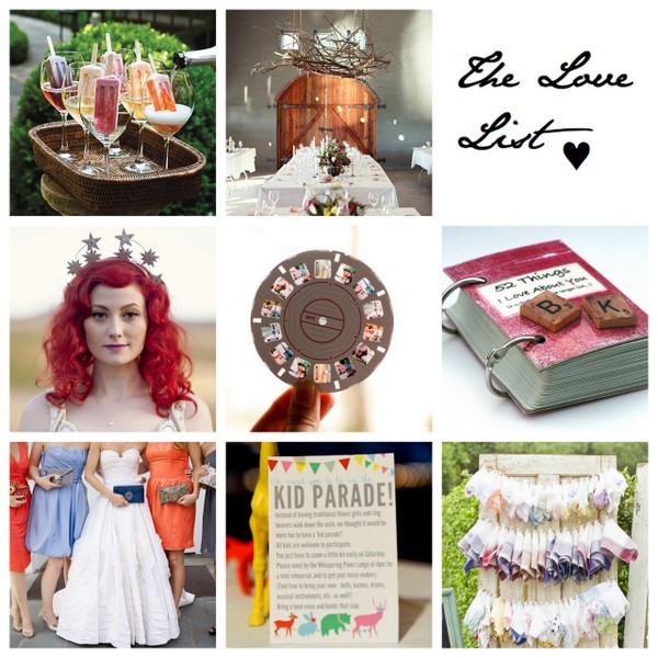 The Love List {23 Jul 2011} | SouthBound Bride