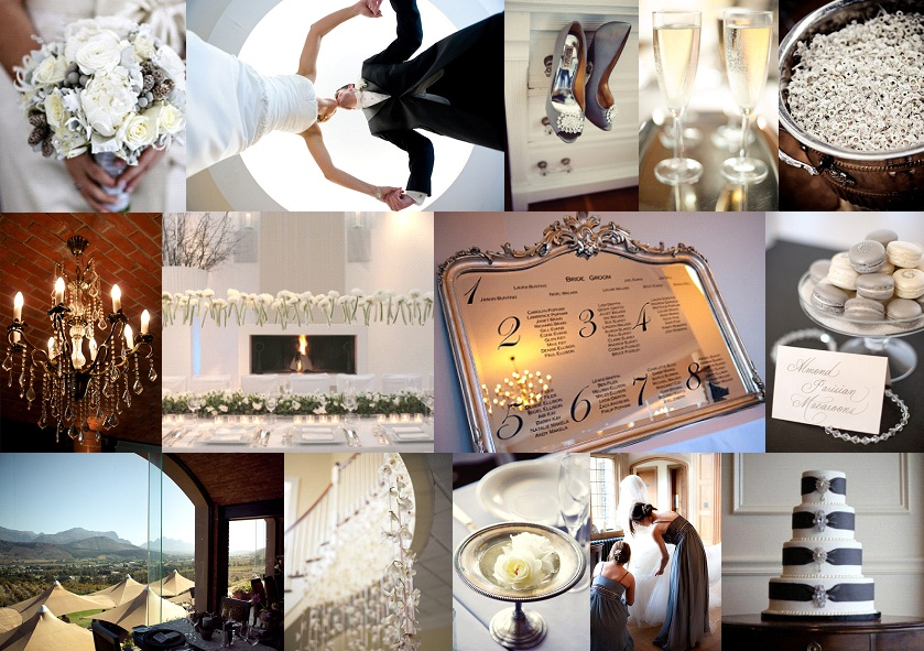 Inspiration Board: Elegant Pewter | SouthBound Bride
