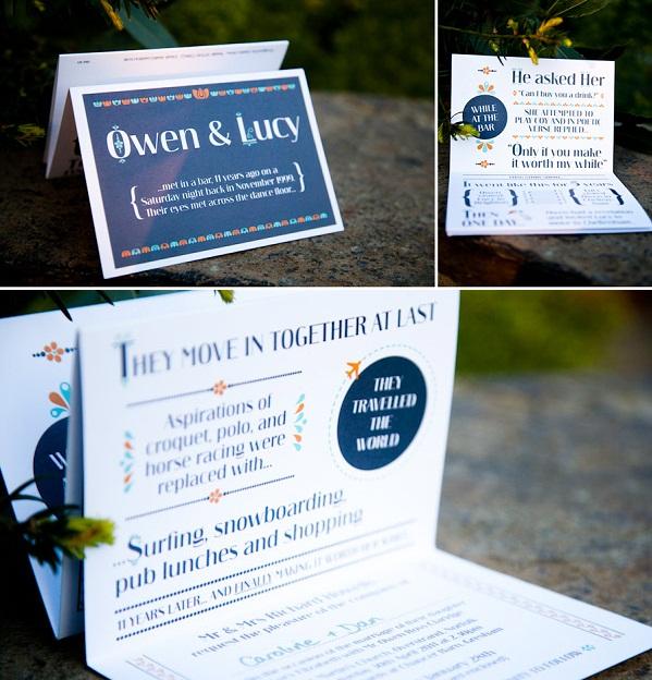 Wedding ideas  Story-invitations