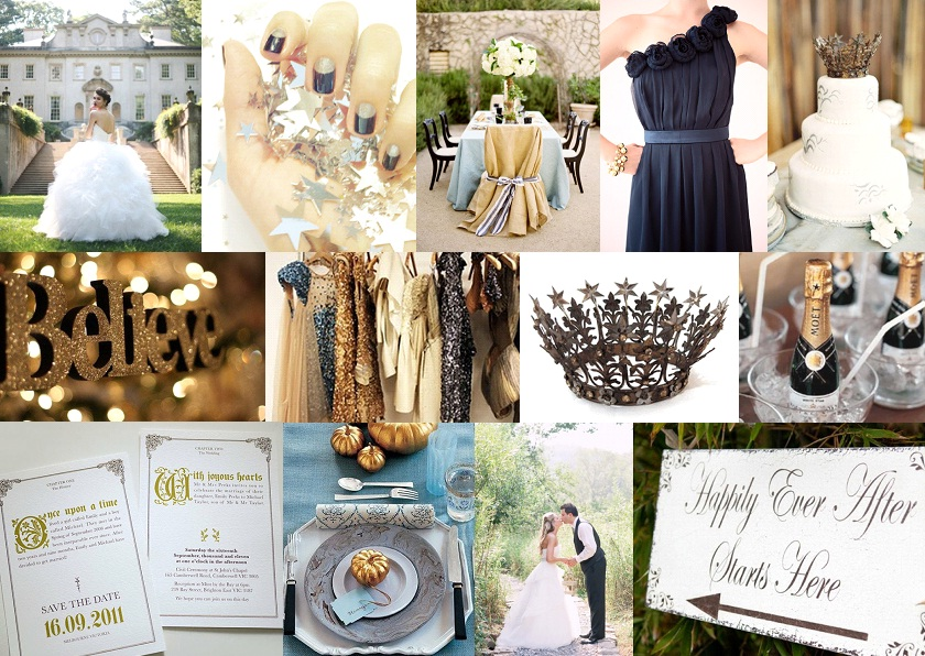 Inspiration Board: Once Upon a Time | SouthBound Bride