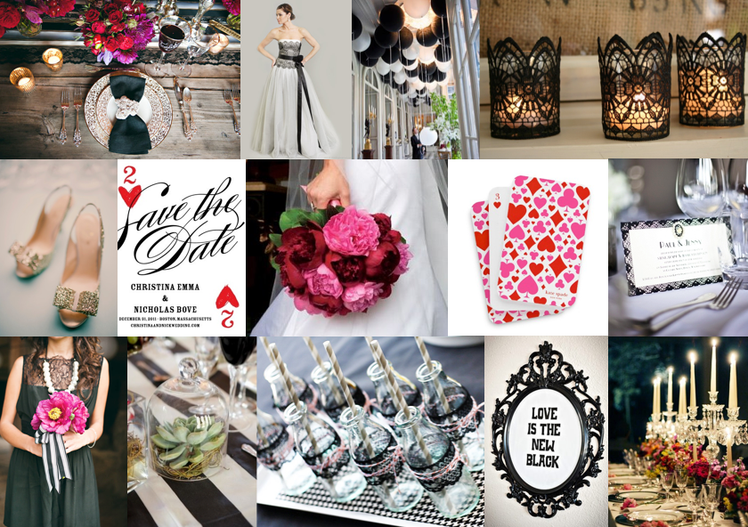 Inspiration Board: Ace of Hearts | SouthBound Bride