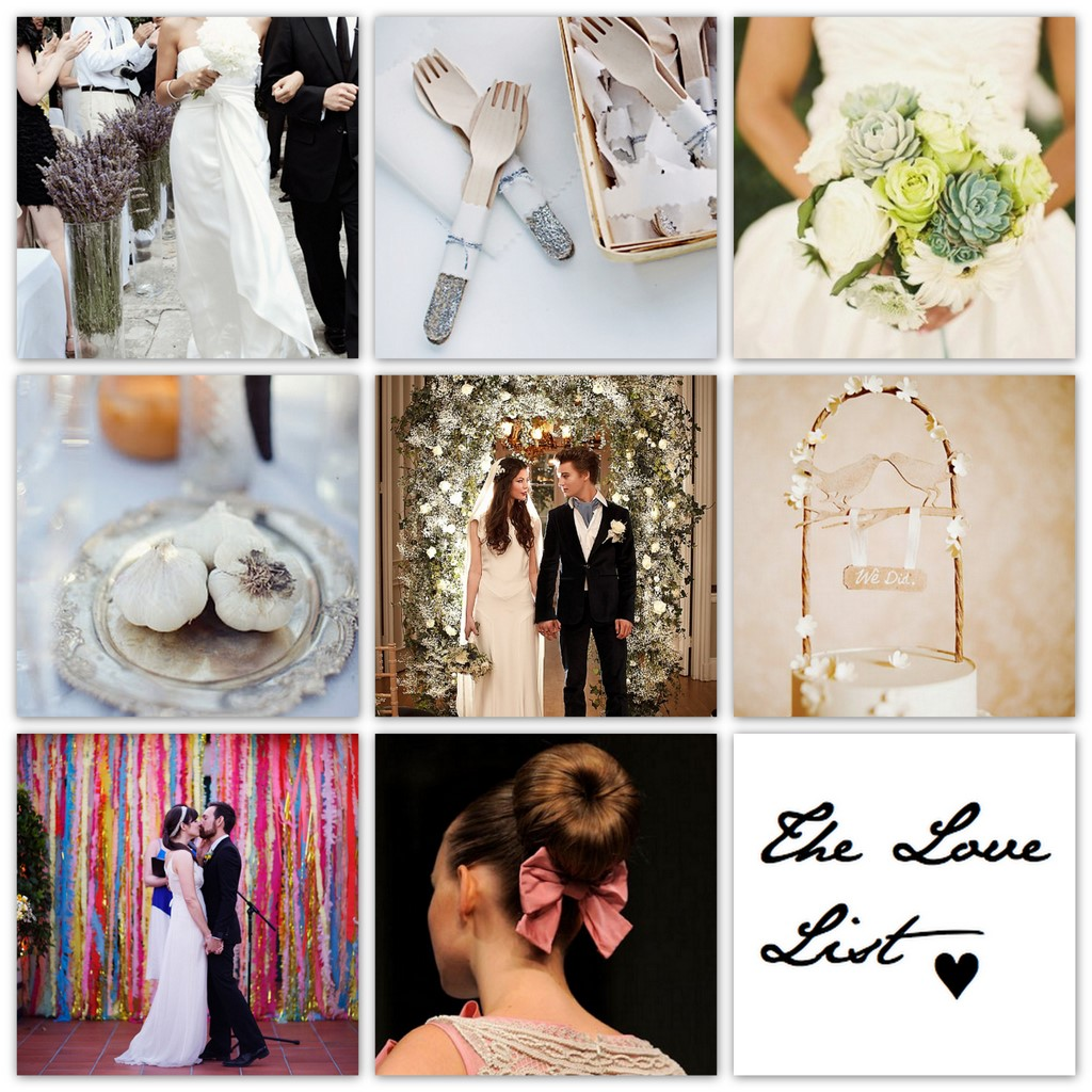 The Love List {19 Nov 2011} | SouthBound Bride