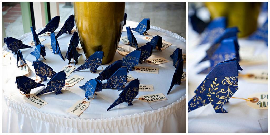 Птичка оригами. мк.