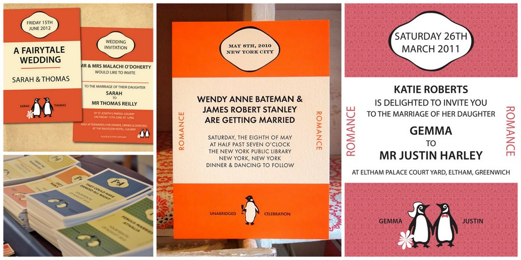 Decor Idea: Penguin Books | SouthBound Bride