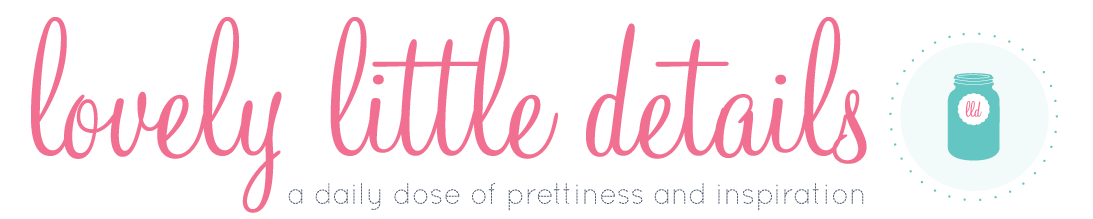 Guest Posting on Lovely Little Details | SouthBound Bride